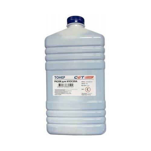 Фото - CET Тонер Cet PK208 OSP0208C-500 голубой бутылка 500гр. для принтера Kyocera Ecosys M5521cdn/M5526cdw/P5021cdn/P5026cdn узел фотобарабана kyocera dk 5230 p5021cdn p5021cdw p5026cdn m5521cdn m5526cdw 302r793010