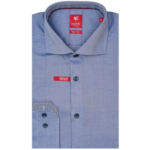 Рубашка pure размер XL синий