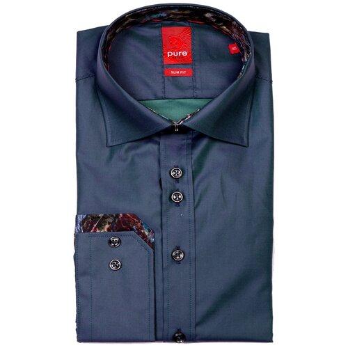Рубашка pure размер M зеленый