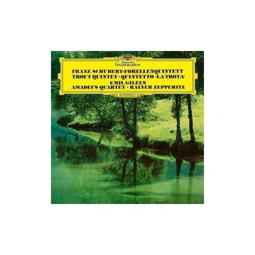 st t g tucker string quartet no 1 Виниловые пластинки, Deutsche Grammophon, EMIL GILELS - Schubert: Piano Quintet The Trout; String Quartet No.12 (LP)