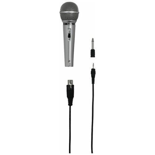 Микрофон Hama H-46040 silver