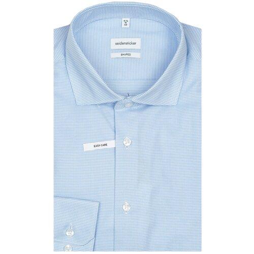 Рубашка Seidensticker размер 39 голубой