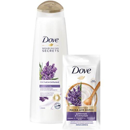 Набор Dove подарочный Густые и Сильные недорого