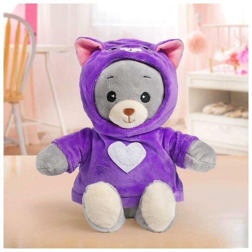Мишка Лаппи Мягкая игрушка «Медвежонок Лаппи - котёнок», 22 см