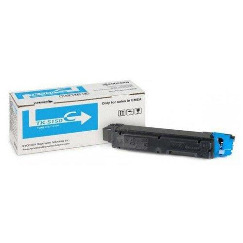 Фото - Картридж лазерный Kyocera TK-5150C 1T02NSCNL0 голубой 10000стр. для Kyocera P6035cdnM6035cidnM6535cidn картридж лазерный kyocera tk 160