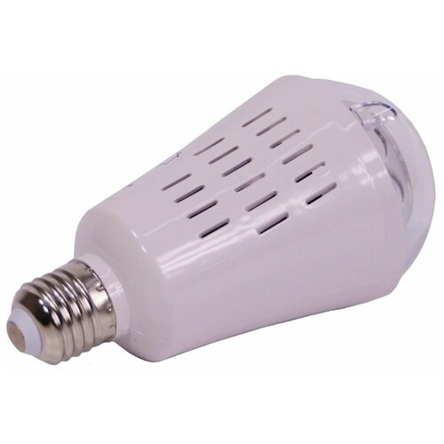 Светодинамическая лампа звёздный вальс, 4 тёплых белых LED-огня, проекция 36 м*2, 7.5x14.5 см, цоколь Е27, для дома, Kae