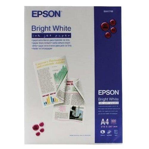Фото - Epson C13S041749 Бумага Bright White Ink Jet Paper, А4, матовая, 90 г/м2, 500 листов bright white inkjet paper q1446a