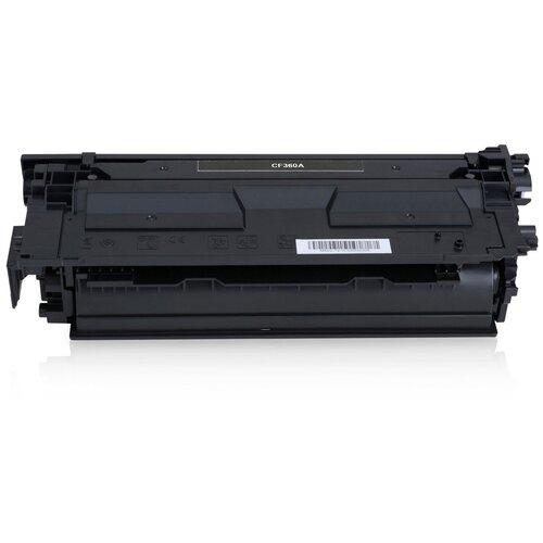 Фото - Картридж CF360A/040 (№508A) для НР CLJ M552 / M553 / M577, Canon LBP 710, LBP 712, Black (черный), для лазерного принтера, совместимый тонер картридж canon 040hm 0457c001 пурпурный 10000стр для canon lbp 710 712