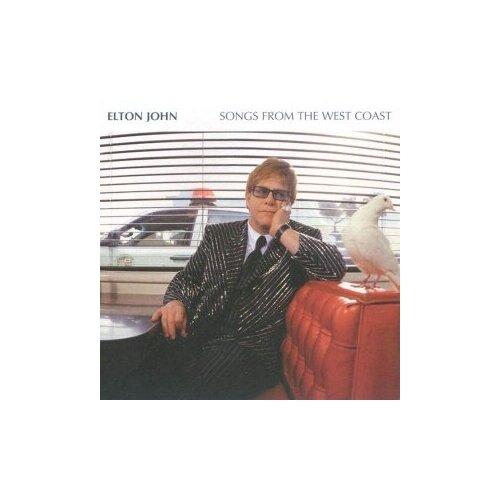 Компакт-диски, Mercury, ELTON JOHN - Songs From The West Coast (CD) elton john elton john songs from the westcoast 2 lp
