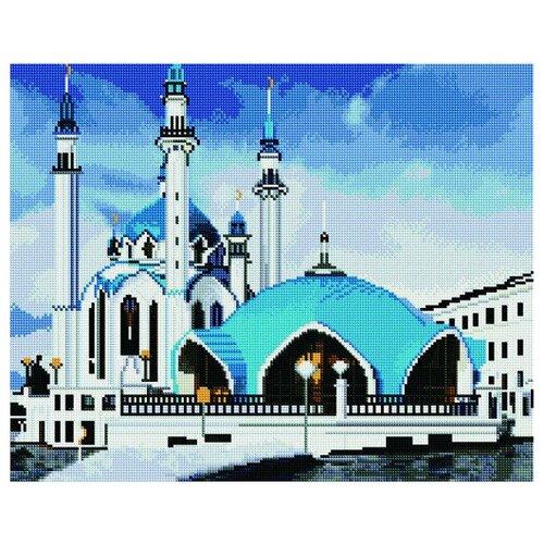 Алмазная мозаика Paintboy 1388 Казанская мечеть 40x50см