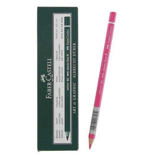 Faber-Castell Акварельные карандаши Albrecht Durer, 6 шт. (117628) 128 пурпурно-розовый