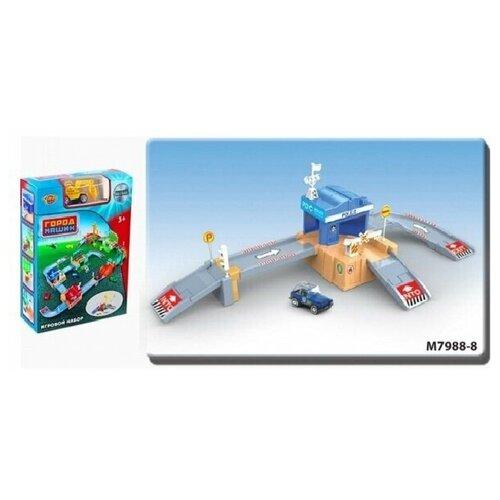 Купить Игр.набор Полиция, в комплекте предметов 32шт., коробка, в ассортименте, Наша игрушка, Игровые наборы и фигурки