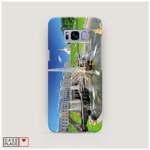 Чехол Пластиковый Samsung Galaxy S8 Петергоф