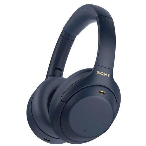 Беспроводные наушники Sony WH-1000XM4, Midnight blue беспроводные наушники sony wh ch710n blue
