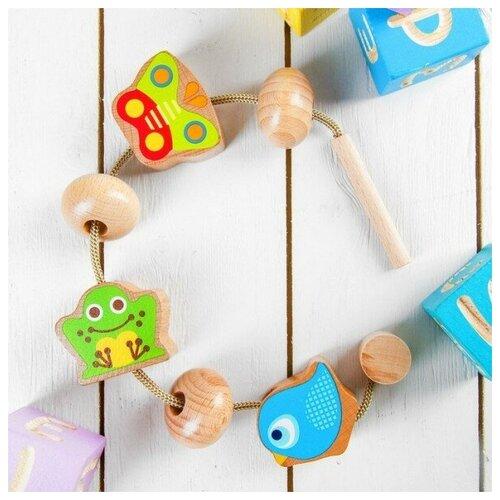 сборная модель мир деревянных игрушек ракетная установка п052 Шнуровка Животные, Мир деревянных игрушек