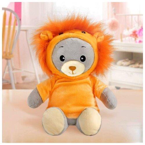 Мишка Лаппи Мягкая игрушка «Медвежонок Лаппи - львёнок», 22 см