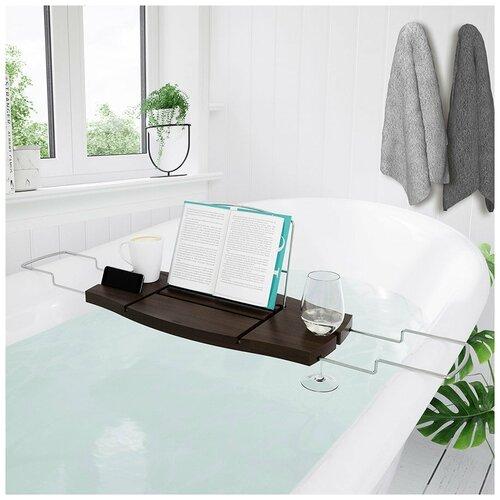 Umbra Столик для ванны Aquala Umbra New (коричневый)
