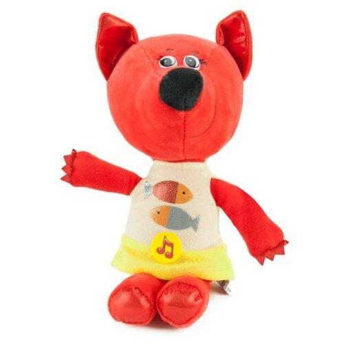 Фото - Мягкая игрушка Мульти-Пульти Ми-Ми-Мишки. Лисичка, в платье с рыбками, 20 см V62143-20-2 мягкая игрушка мульти пульти ми ми мишки лисичка в ободочке 20 см