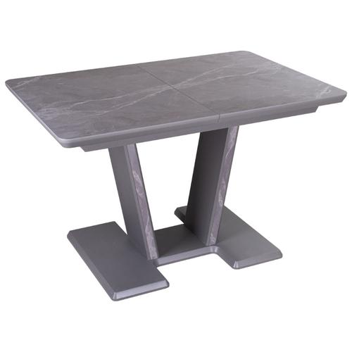 Стол кухонный с керамогранитом раскладной Блюз ПР-1 КРМ 87 СМ 03-1 СМ/87. Размеры стола (ДхШхВ):119,2(158,2)х80х75 см