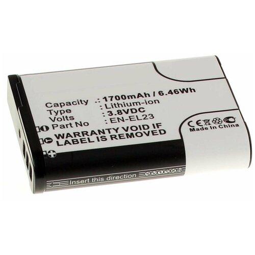 Фото - Аккумулятор iBatt iB-U1-F432 1700mAh для Nikon Coolpix P900, Coolpix P600, Coolpix P610, Coolpix S810c, аккумулятор fb en el1 для nikon coolpix 4800 5000 5400 5700 8700