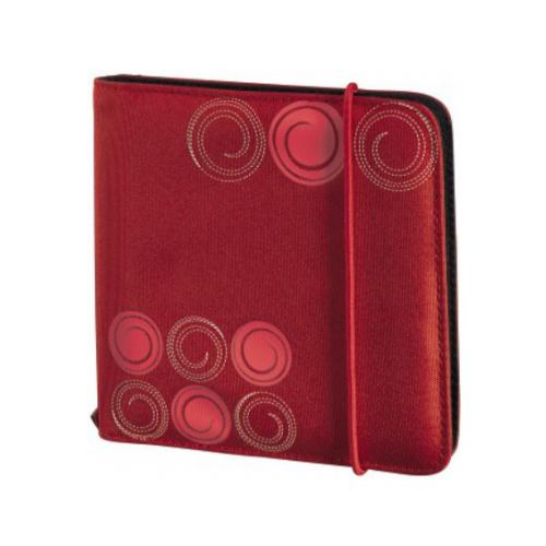 HAMA Портмоне HAMA Up to Fashion для 24 CD/DVD красный H-95669