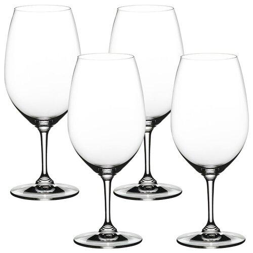 Набор фужеров 4 шт. 610 мл., высота 21,7 см. VIVINO Nachtmann 103738 набор фужеров для шампанского vivino хрустальное стекло 4 шт 95864 nachtmann