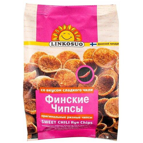 Хлебцы Linkosuo финские ржаные со вкусом сладкого чили 120 г Финляндия