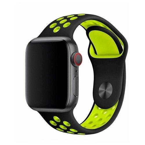 Ремешок Devia Deluxe Series Sport 2 Band для Apple Watch 4 40mm - Yellow аксессуар ремешок devia belt deluxe sport band для apple watch 38 40mm stone 27847