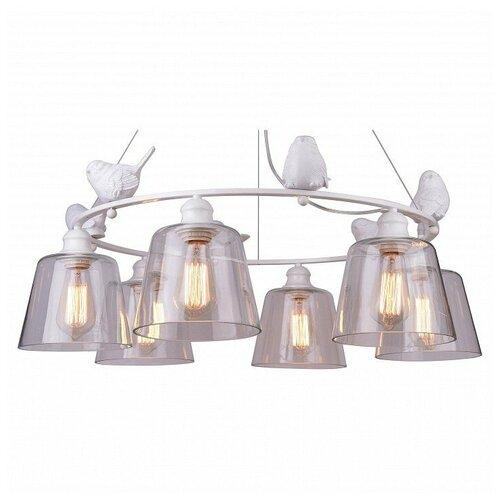 Подвесная люстра Arte Lamp Passero A4289LM-6WH подвесная люстра arte lamp a4289lm 6wh