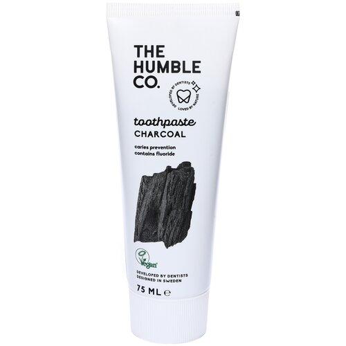 Зубная паста The Humble Co. Charcoal, 75 мл