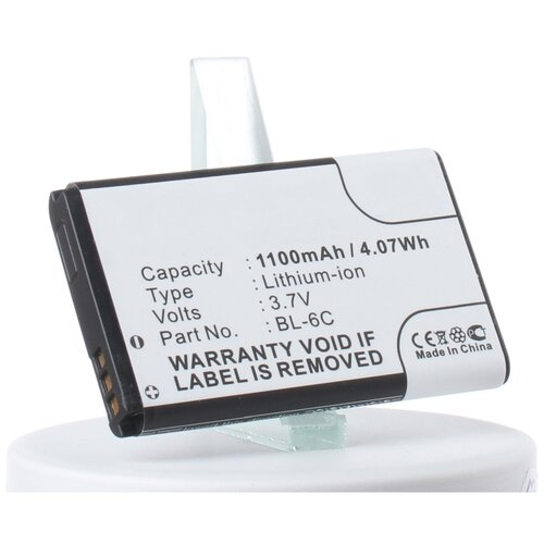 Аккумуляторная батарея iBatt 1100mAh для Nokia 3152
