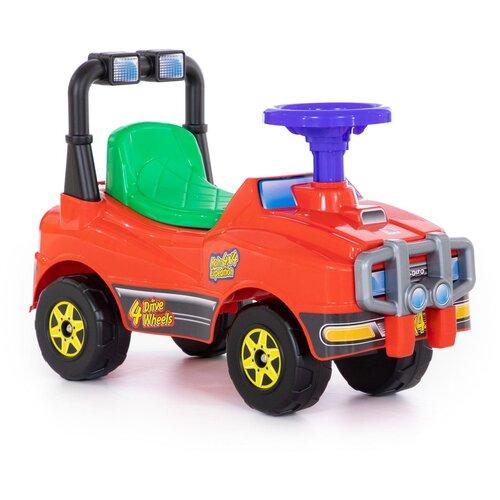 Купить Автомобиль Джип-каталка - №3 (красный), Полесье, Каталки и качалки