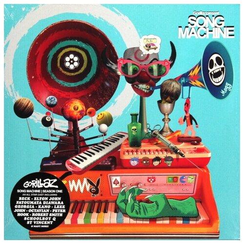 gorillaz gorillaz the fall Parlophone Gorillaz. Gorillaz Presents. Song Machine, Season 1 (виниловая пластинка)