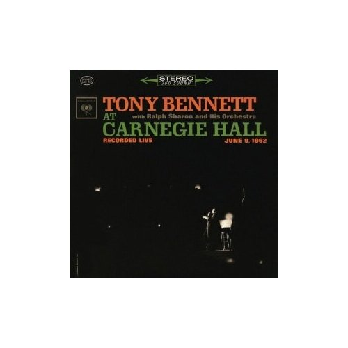 simply red stay live at the royal albert hall Старый винил, COLUMBIA, TONY BENNETT - At Carnegie Hall Recorded Live June 9, 1962 (2LP, Used)