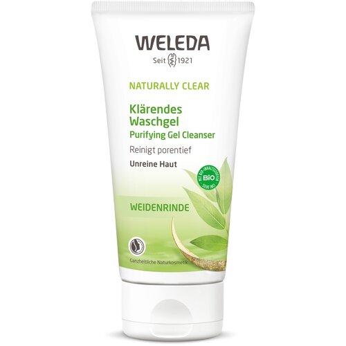 weleda naturally clear purifying gel cleanser Weleda очищающий гель для умывания Naturally Clear, 100 мл