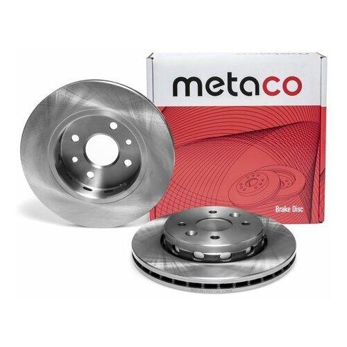 Диск тормозной передний вентилируемый (Производитель: METACO 3050067)