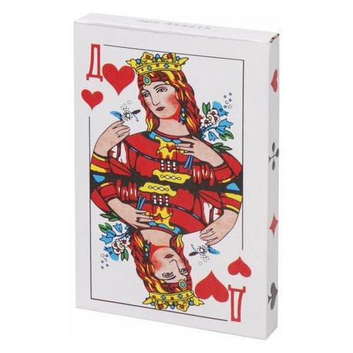 Карты игральные, 36 карт, с пластиковым покрытием, 454215 недорого