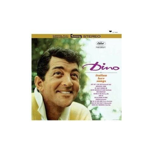 Виниловые пластинки, Ume, MARTIN, DEAN - Dino (LP) недорого