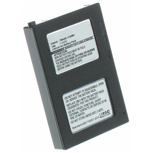 Аккумулятор iBatt iB-B1-F164 750mAh для JVC BN-VM200U,