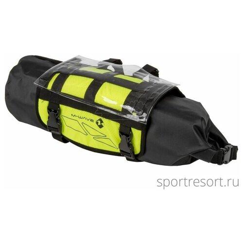 M-Wave Велосумка на руль M-Wave Bikepacking Handlebar Bag Black/Yellow