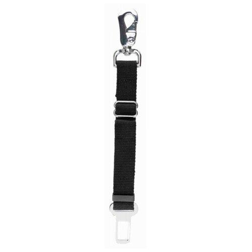 Автомобильный ремень безопасности Trixie для собак, 45-70 см/25 мм, чёрный