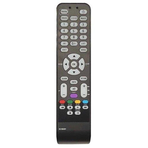 Фото - Пульт ДУ Thomson RC 1994301, TCL (19E72NM00G, 26E92NH10) LCD TV+DVD пульт rc 49c dvd для tcl