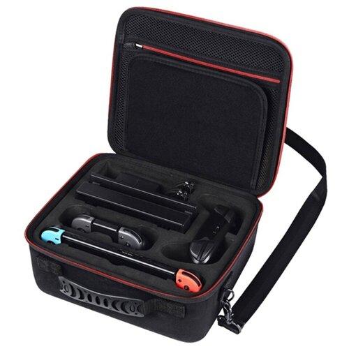 Фото - Чехол-сумка-бокс MyPads для Nintendo switch с отделением для дополнительных аксессуаров Черный fendi кожаная сумка с заклепками