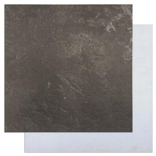 Фото - Фотофон двусторонний Белый бетон - Чёрный 45 х 45 см, переплётный картон, 980 г/м фотофон арт узор кирпич белый