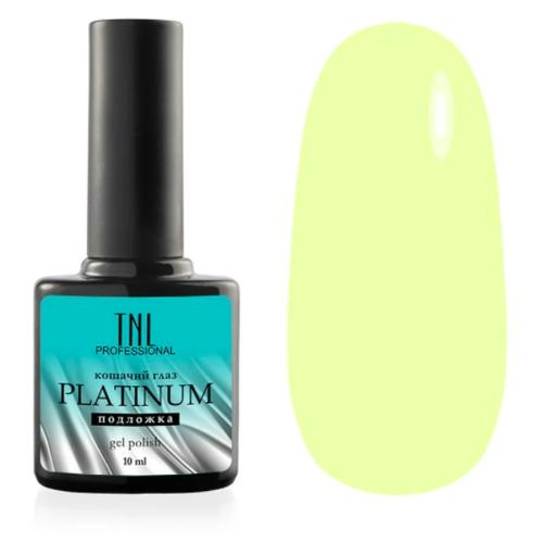 Гель-лак для ногтей TNL Professional Platinum, 10 мл, 09 лимонный гель лак для ногтей tnl tnl tn001lwdejy2