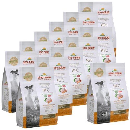 Almo Nature Для взрослых собак со свежей Курицей (50% мяса) для карликовых и мелких пород (XS-S Adult Chicken) 0,3 кг х 12 шт.