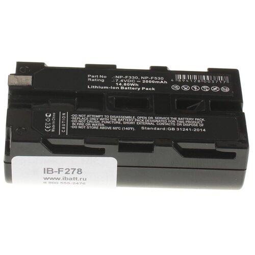 Фото - Аккумуляторная батарея iBatt 2000mAh для Olympus, Sony NP-F970/B, NP-F730, NP-F950/B, NP-F930/B, NP-F975 аккумуляторная батарея ibatt 850mah для pentax praktica samsung klic 7005 np 40n
