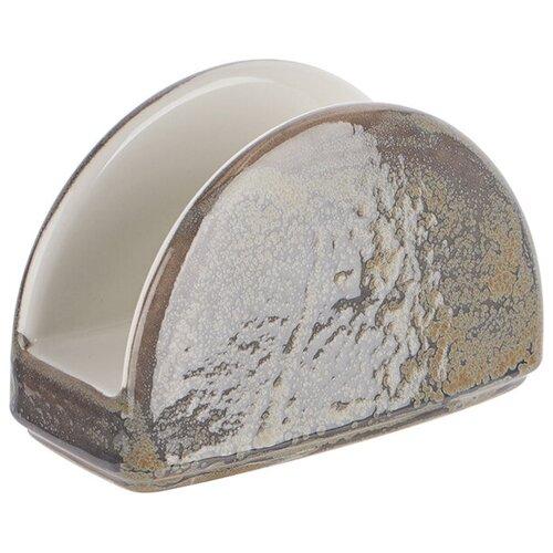Салфетница «Революшн», серый, фарфор, 17750852, Steelite