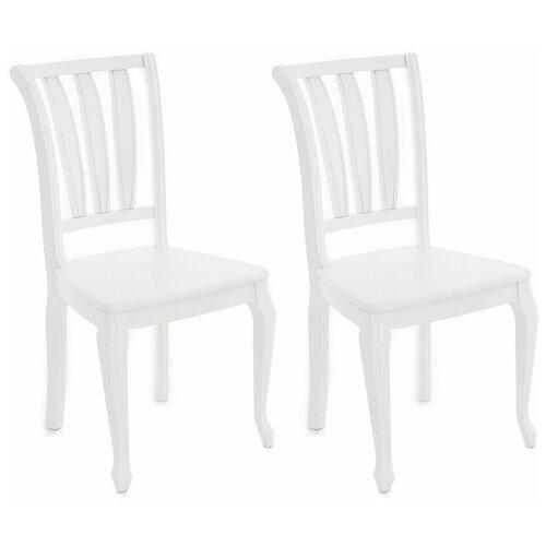 Комплект стульев Аврора Кабриоль Эмаль белая 2 шт
