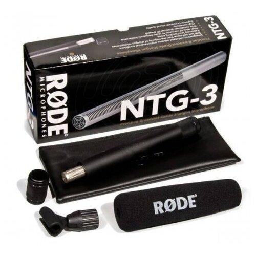 Конденсаторный суперкардиоидный микрофон Rode NTG-3